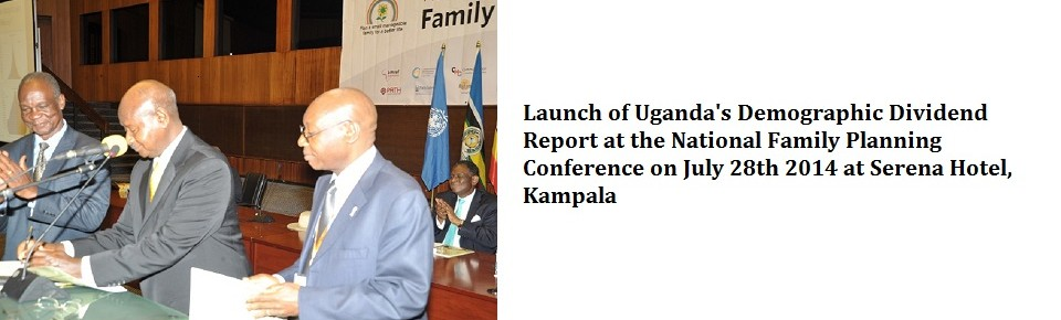 Launch of Uganda's Demographic Dividend Report